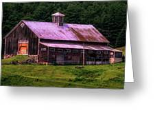 Retired Vermont Farm Greeting Card