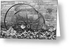 Retired Wheel Greeting Card