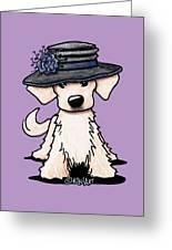 Retriever Puppy Greeting Card
