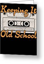 Retro Cassette Keeping It Old School Music Lover