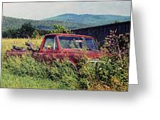 Retro Ford Greeting Card