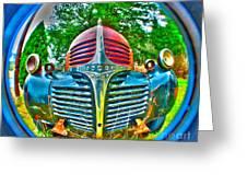 Retro Rainbow Greeting Card