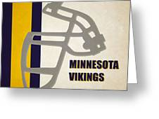 Retro Vikings Art Greeting Card