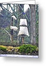 Return To The Yaquina Bay Greeting Card