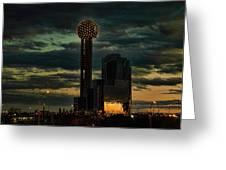 Reunion Tower, Dallas Texas Greeting Card