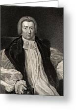 Rev Robert Gray 1762 To 1834 Bishop Of Greeting Card