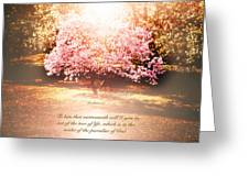 Revelation Tree Of Life Greeting Card