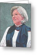 Reverend Mary Gregorius Greeting Card