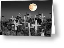 Reverent Moonlight.... Greeting Card