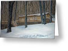 Rex Cabin Greeting Card
