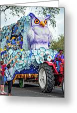 Rex Mardi Gras Parade Iv Greeting Card