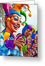 Rex Mardi Gras Parade Xi Greeting Card
