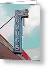 Rexall Drugs Greeting Card