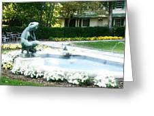 Reynolda Fountain Greeting Card