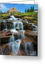 Reynolds Mountain Waterfall Greeting Card