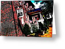 Reynolds Tavern Annapolis Greeting Card