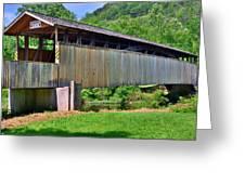 Claycomb Covered Bridge Greeting Card