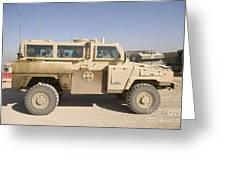 Rg-31 Nyala Armored Vehicle Greeting Card