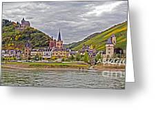 Rhine In Fall Greeting Card