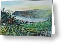 Rhine Valley Greeting Card