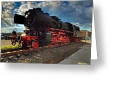 Rhineland-palatinate Locomotive Greeting Card