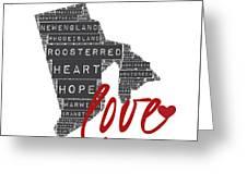 Rhode Island Love Greeting Card