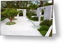 Rhs Chelsea Beauty Of Islam Garden Greeting Card
