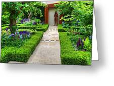 Rhs Chelsea Healthy Cities Garden Greeting Card