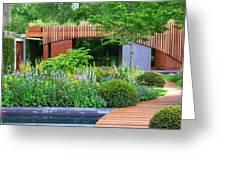 Rhs Chelsea Homebase Urban Retreat Garden Greeting Card