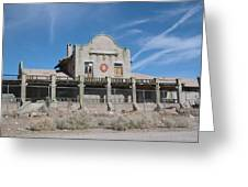 Rhyolite Station Greeting Card