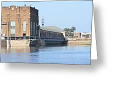 Ria Power Plant Greeting Card