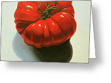 Ribbed Heirloom Tomato Greeting Card