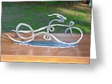 Ribbon Bike Greeting Card