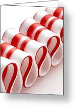 Ribbon Candy Greeting Card