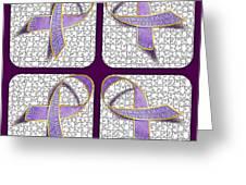 Ribbon Of Change Greeting Card