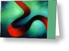 Ribbon Of Time Greeting Card