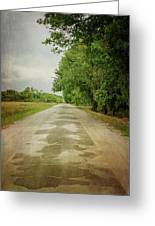 Ribbon Road - Sidewalk Highway Greeting Card