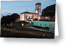 Ribeira Grande Town Hall Greeting Card