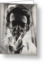 Richard Avedon Greeting Card by Corky Willis Atlanta Photography