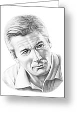 Richard Gere Greeting Card