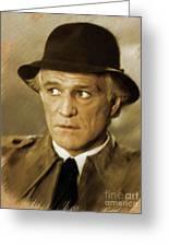 Richard Harris, Vintage Actor Greeting Card
