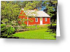 Richard Hunnewell House, Scarborough Maine Greeting Card