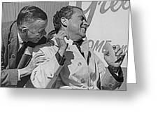 Richard Nixon Laughing Greeting Card