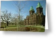 Richardon Olmsted Complex, Buffalo Greeting Card