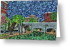 Richmond Canal Walk Greeting Card
