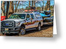 Richmond Fire And Ems Equipment 7461 Greeting Card