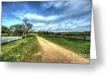Richmond-lynchburg Stage Road, Appomattox, Virginia Greeting Card