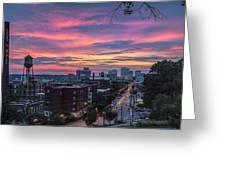 Richmond Sunset Libby Hill Greeting Card
