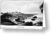 Richmond, Virginia, 1856 Greeting Card