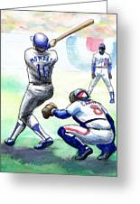 Rick Monday Greeting Card